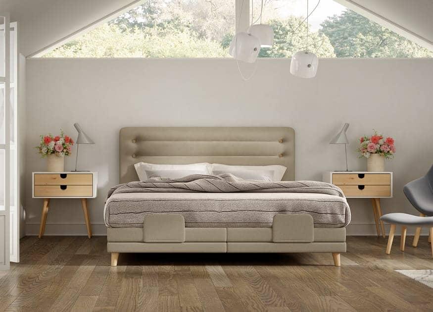 design boxspringbett cosy scandinavian schlaraffia. Black Bedroom Furniture Sets. Home Design Ideas